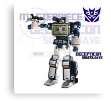 Transformers G1 Soundwave Canvas Print