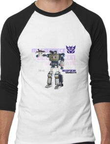 Transformers G1 Soundwave Men's Baseball ¾ T-Shirt