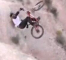 Mountainbikers Know Fear by KNOW FEAR WEAR Sticker