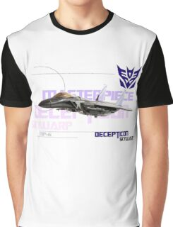Transformers G1 Skywarp Graphic T-Shirt