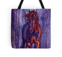 Rough God Comes Riding Tote Bag