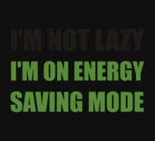 Energy Saving Mode Kids Tee
