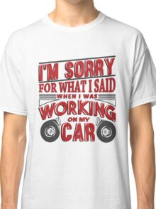 Wrenching anger 2 Classic T-Shirt