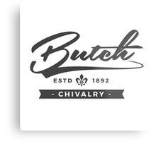 Lesbian Pride - Butch Chivalry Metal Print