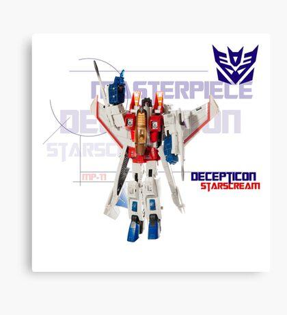 Transformers G1 Starscream Canvas Print