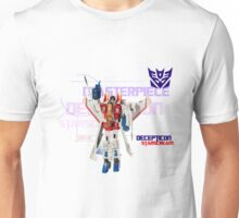 Transformers G1 Starscream Unisex T-Shirt