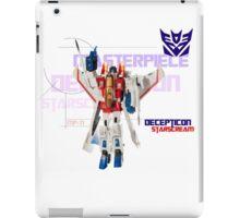 Transformers G1 Starscream iPad Case/Skin