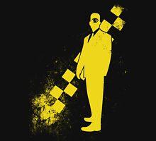 Black Leather Yellow Leather: Invert Unisex T-Shirt