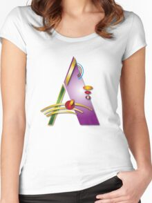 A Women's Fitted Scoop T-Shirt