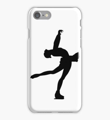 Lay back Figure skating iPhone Case/Skin