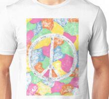 Tie-Dye Peace Sign Unisex T-Shirt