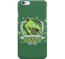 Team Kanto - Grass iPhone Case/Skin