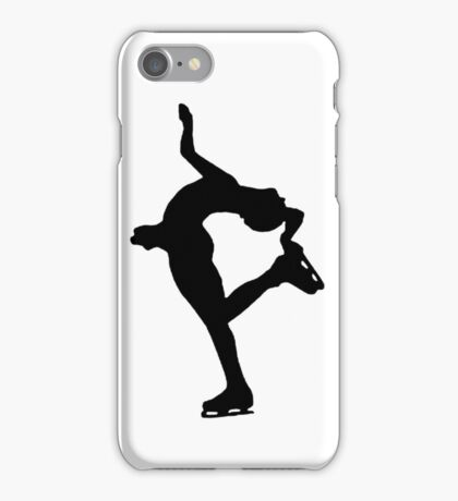 Catch foot lay back Figure skating iPhone Case/Skin