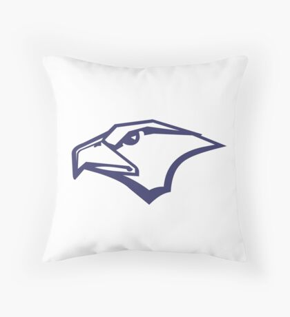 Salisbury Falcons Throw Pillow