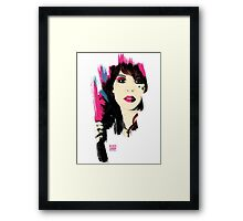 Glass Candy Fan T-shirt Framed Print