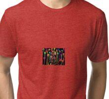 Raining blobs Tri-blend T-Shirt