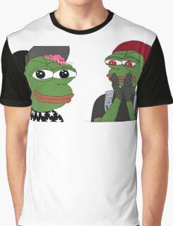 Tyler & Josh Pepe Graphic T-Shirt