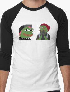 Tyler & Josh Pepe Men's Baseball ¾ T-Shirt