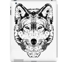 Wolf Black iPad Case/Skin