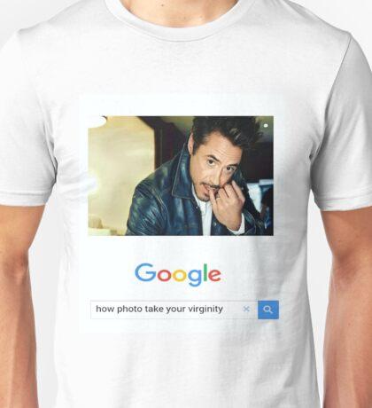 Robert Downey Jr. fangirl edit Unisex T-Shirt