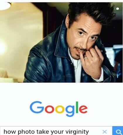 Robert Downey Jr. fangirl edit Sticker