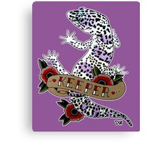 """Keeper Leopard Gecko"" Canvas Print"