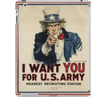Join the USA army iPad Case/Skin