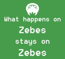 What happens on Zebes... Baby Tee