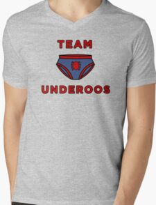 Underoos- Spiderman Mens V-Neck T-Shirt