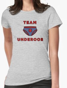 Underoos- Spiderman Womens Fitted T-Shirt