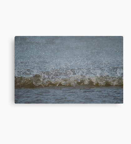Forces Of Nature Meet Canvas Print