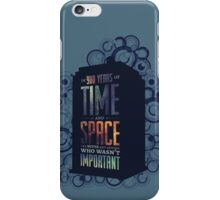 Doctor Who - Space and Time iPhone Case/Skin