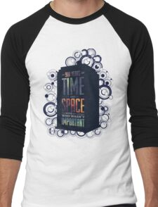 Doctor Who - Space and Time Men's Baseball ¾ T-Shirt