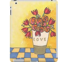 Tulips and more sending you love iPad Case/Skin