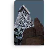 Liverpool city skyline by Tim Constable Canvas Print