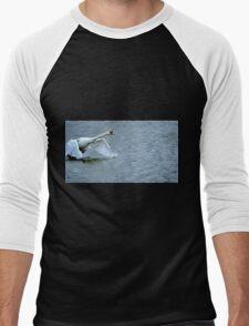 Swan's runway...is a long one Men's Baseball ¾ T-Shirt
