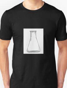 Black And White Chemistry Beaker T-Shirt