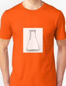 Black And White Chemistry Beaker T-Shirt