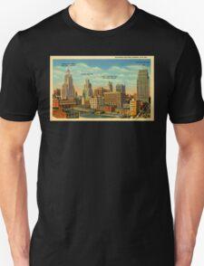 Vintage Business Section Kansas City MO Unisex T-Shirt