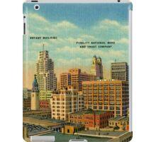 Vintage Business Section Kansas City MO iPad Case/Skin