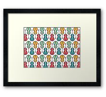 Double the Bass Framed Print