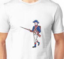 American Revolutionary Soldier Cartoon Unisex T-Shirt