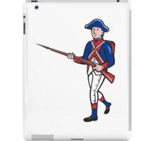 American Revolutionary Soldier Cartoon iPad Case/Skin