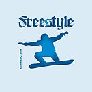 Freestyle snowboard by fuxart
