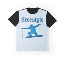 Freestyle snowboard Graphic T-Shirt