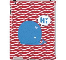 Whale of a Good Time iPad Case/Skin