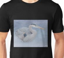 Blue Heron Art - Creativity Unisex T-Shirt