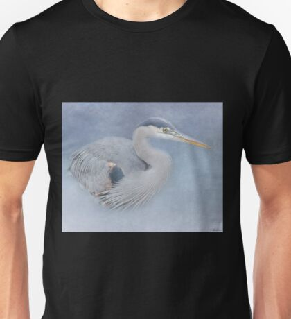 Blue Heron Art - Creativity Unisex T-Shirt