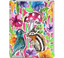 Chipmunk and Friend iPad Case/Skin