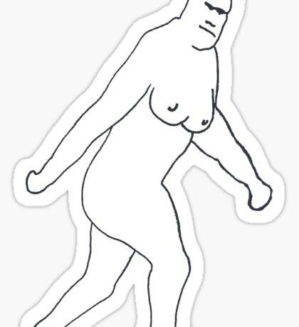 THE JERSEY DEVIL - X FILES FOX MULDER Sticker